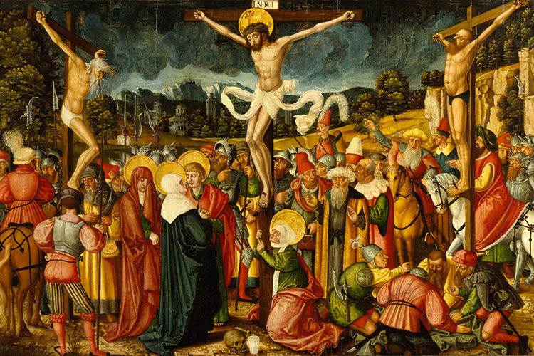 Peter Gertner Crucifixion Walters 37246